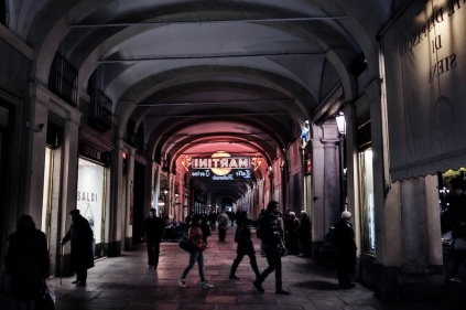 An evening stroll around Turin, Italy.